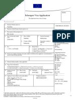Schengen Visa Application 2019