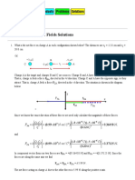PHYS 1100 Electric Fields Solutions