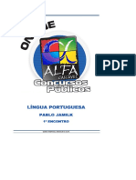 Língua Portuguesa (Alfacon) _ Pablo Jamilk - Encontro 1