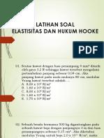 Latihan Soal_Elastisitas Dan Hukum Hooke