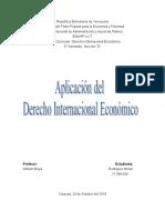Ambito de Aplicación Del Derecho Internacional Economico