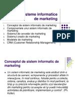 10-Sisteme Informatice de Marketing