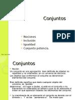 Matematicas Universidad Conjuntos 1
