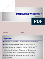 Lesson 01 - Introducing Windows 7.ppt