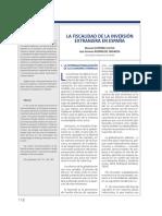 FiscalidadInversiónExtranjeraEnEspaña