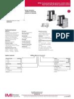 Valvula Proporcional Norgren Vp23