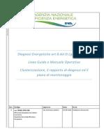 ENEA Linee Guida e Manuale Operativo Diagnosi Energetiche Ver. 03-05-2019