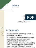 e Commerce- Akash