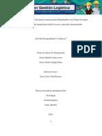 Diseño de Un Plan Maestro de Logística Comercial