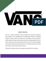 Vans Report