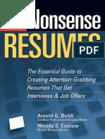 No-Nonsense Resumes Creating Attention Grabbing Resumes.pdf
