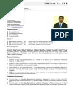 CV_Dr Sajith Chandran