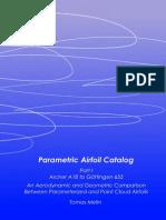 Melin - Parametric Airfoil Catalog
