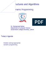 Lecture 4 Dynamic Programming
