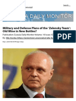 Alla HURSKA_ Military and Defense Plans of the Zelensky Team. Old Wine in New Bottles