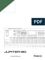 JUPITER-80_Lista de Parametros