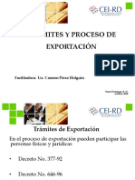 Tramites y Proceso de Exportacion