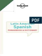 Lonely Planet Latin American Spanish