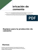 Fabricación de cemento.pptx