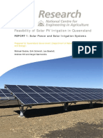 Usq Report Solar Power and Irrigation Systems