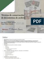 Curso-Técnicas Conservación Documentos Archivo19-23_11_18