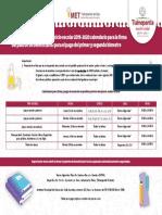 Calendario para la firma del padrón Tlalnepantla 2019