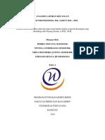 (Tanpa Lampiran) Analisis Laporan Keuangan Pt. Unilever Indonesia_uas_kelas A