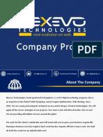 Nexevo Company Profile