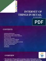 Smart retail using iot