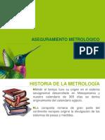 Capacitación en Aseguramiento Metrologico 2017