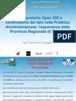 Alessandro Putaggio - Buone pratiche Open GIS e condivisione dei dati nella P.A.