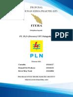 Proposal Pengajuan Kerja Praktek (KP) PT. PLN (Persero) Pulogadung
