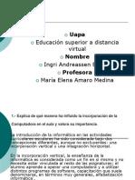 Tarea 2 Tecnologia Aplicada a La Educacion Asignación de La Unidad 2 (1)