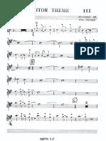 Monitor Theme - FULL Big Band - Holman - Buddy Rich