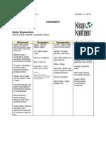 HW 2 Segmentation and Positioning