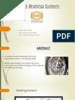anti lock braking ppt