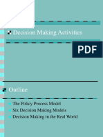 Topic 6 Decision Making Activities