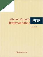 Michel Houellebecq-interventions 2(2009).epub