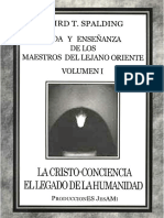 Vida y Ensenanza de Los Maestros Del Lejano Oriente - Volumen I