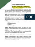 ESPECIFICACIONES TECNICAS ORDENADAS
