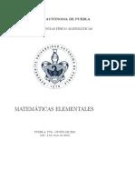 Matemáticas Elementales 2010 Rev 2jul2016
