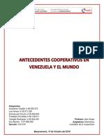 Antecedentes de La Cooperativa en Venezuela