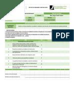 Rubrica SI en Excel