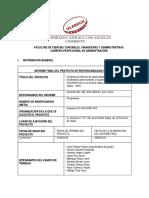 Formato de Informe Final 2018 - i