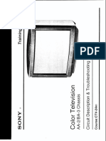 Sony Aa2 Ba3 Chassis Training-manual