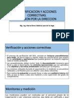 x. Verificacion y Acciones Correctivas