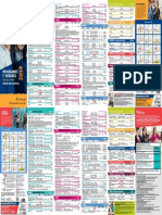 Programmes et horaires (cours adultes et 9 à 17 ans) / Courses and Schedules (Adult and Teen Courses) - 2019