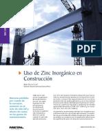 Articulo en Metal Actual Revista Zinc Inorganicos Reforzados