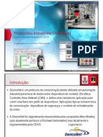 APRESENTACAO - Aula 11 Protocolos Industriais ControlNet DeviceNet EtherNetIP
