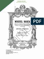 14291 EI0255 Metodo Completo Trombon Pistones Bombardino Tuba Saxhorns Badia